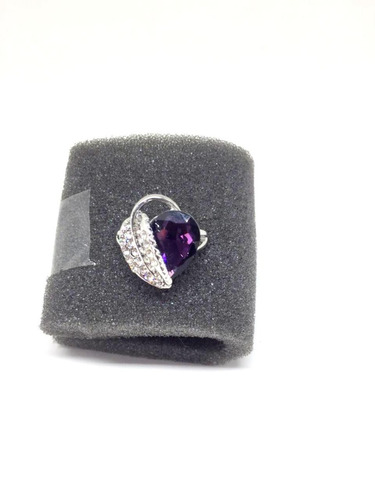anel feminino tipo solitario bijuteria tamanhos 15 e 16
