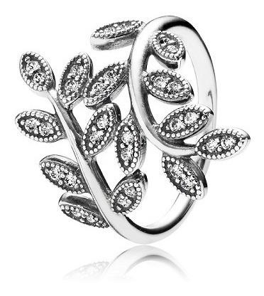 anel folhas de zircônia