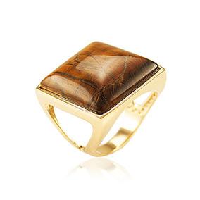 c9c243c72e2d8 Anel Pedras Brasileiras Ouro - Joias e Relógios no Mercado Livre Brasil