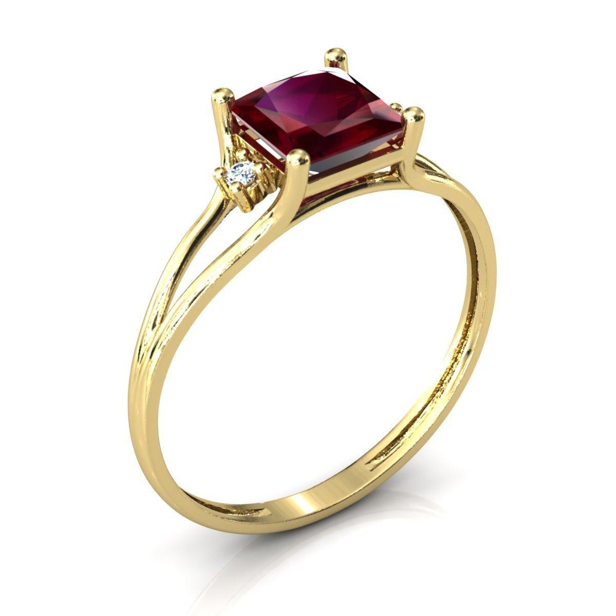 8138eeab6d1 Anel Formatura Aro Duplo Pedra Zircônia Ouro 18k Dourado - R  581