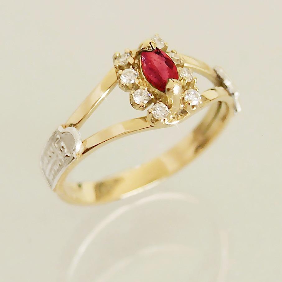 anel formatura ouro 18k 750 rubi diamantes direito feminino. Carregando  zoom. 5e2e1222ec