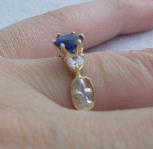 anel formatura ouro