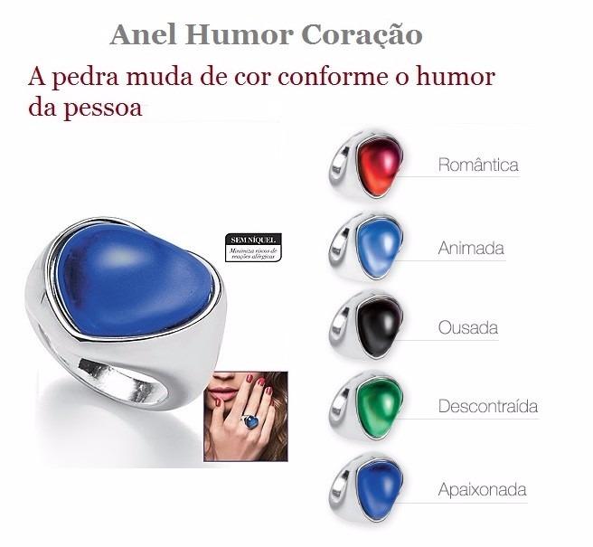 Anel Humor Coracao Avon Tamanho 16 Ultima Unidade R 15 00 Em