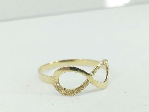 anel infinito ouro 416 10 k