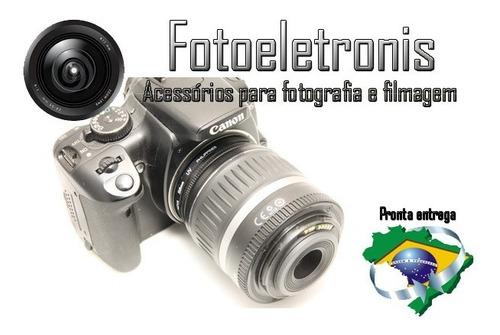 anel inversor canon 55mm lentes de diâmetro macrofotografia