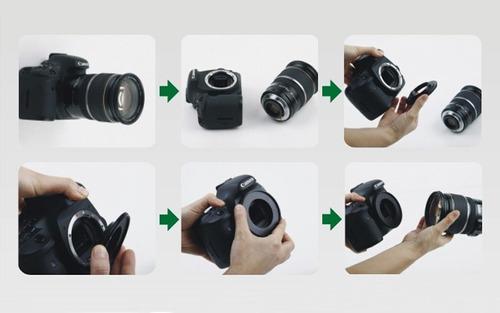 anel inversor macro reverso 58mm canon eos