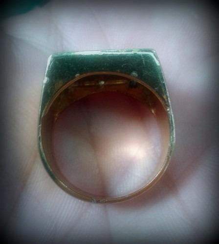 anel letra banhado ouro c/pedras - todas as letras