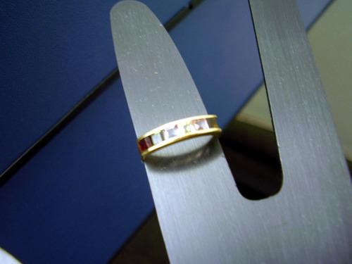 anel lindo  com pedras   ouro  18k  legitimo !!