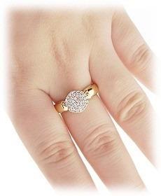 anel luxo ouro 18k  5 meses de garantia sedex gratis
