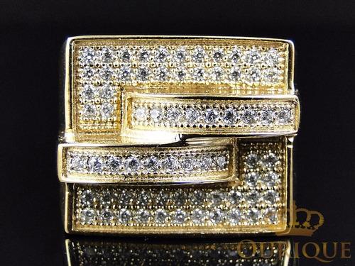 anel masculino em ouro 18k com diamantes exclusive