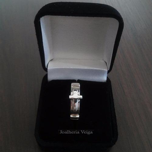 anel masculino prata anel