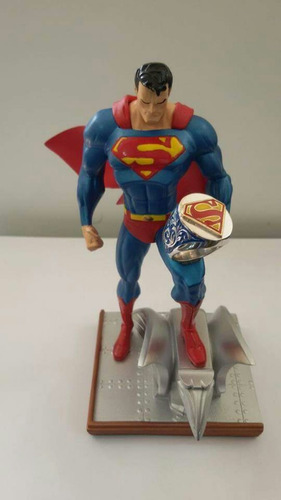 anel masculino superman na prata 950 top!!