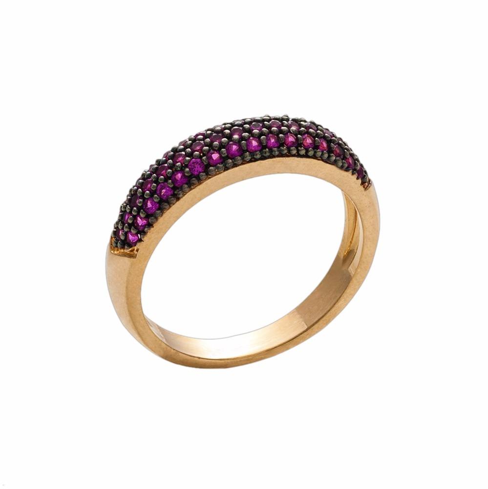 anel meia aliança aparador zircônias rubi semi joia ouro 18. Carregando  zoom. 7cb62b1e84