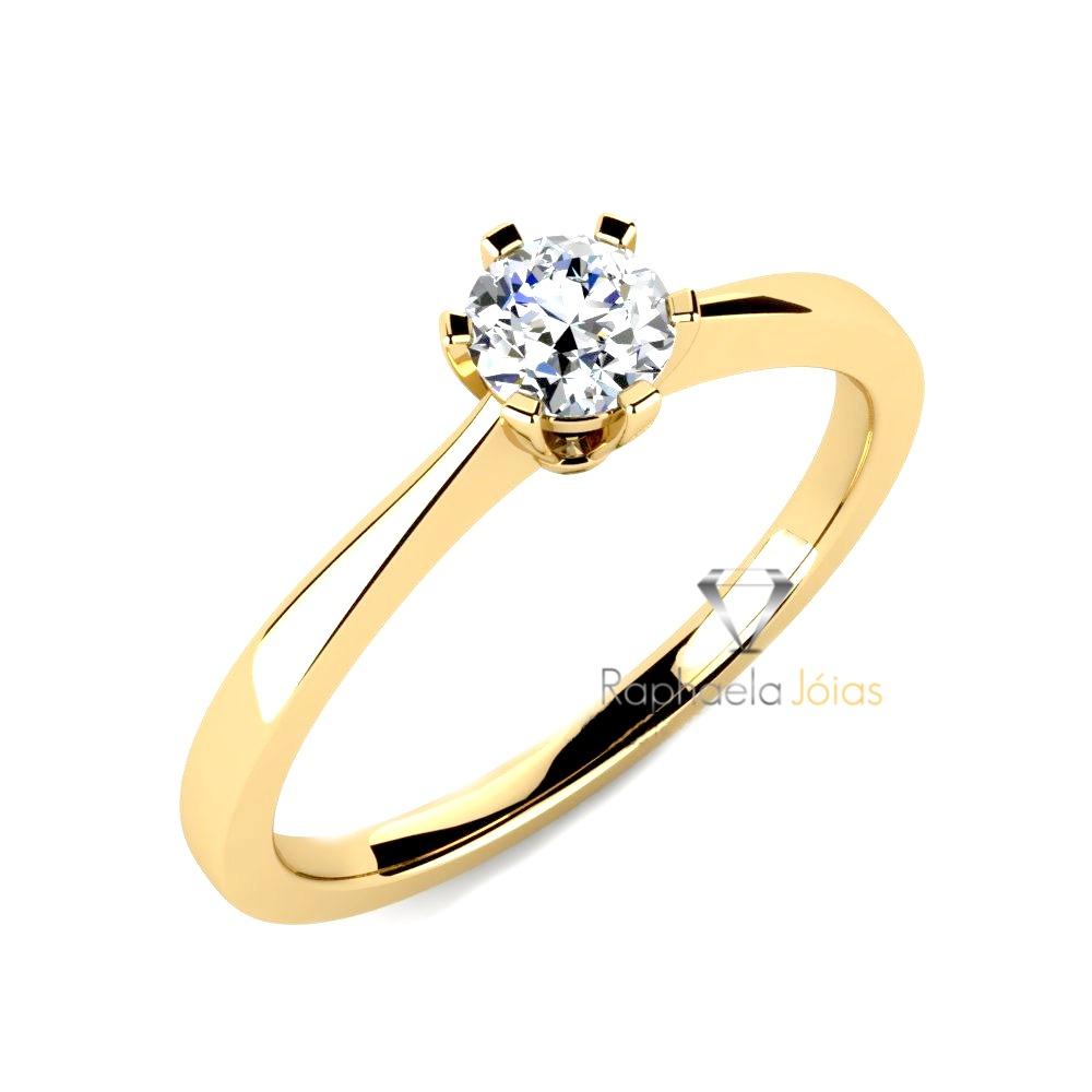 dabd57a30e88e anel original ouro 18k solitário. Carregando zoom.