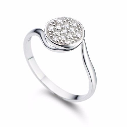 anel ouro 18k comanel em our rubi e diamantes mod. cj1264