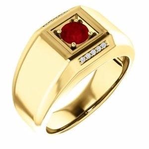 anel ouro 18k e diamantes mod. cj1416