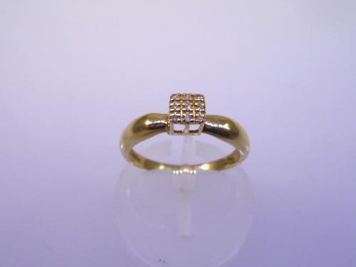 anel pave de ouro 18k brilhantes-jr alianças e joias