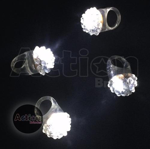 anel pisca mamona (branco) - 48 unidades