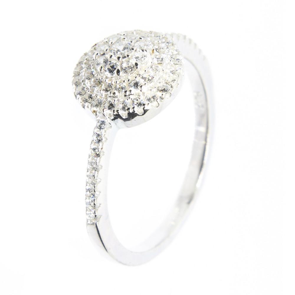 c2b0bc493118e anel prata 925 - micro zircônias - redondo - delicado. Carregando zoom.