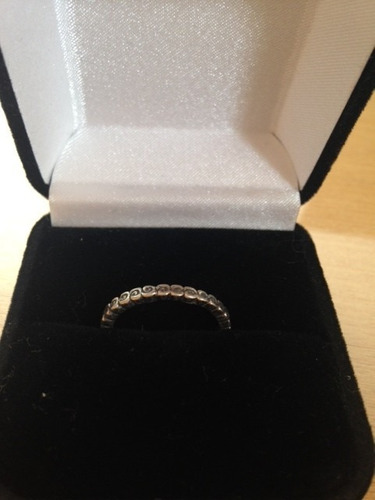 anel prata 925 - pandora inspired