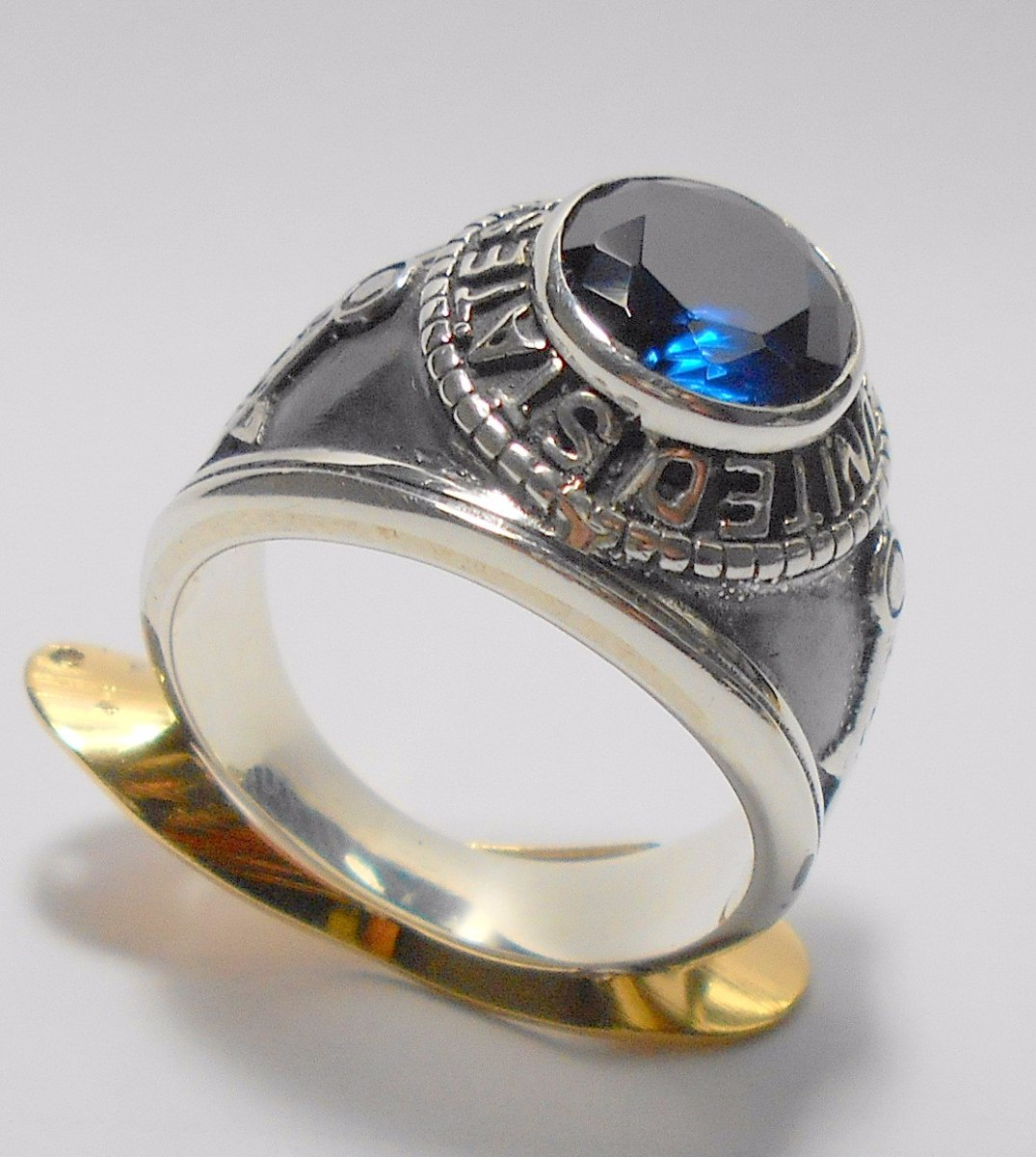anel prata 950 masculino maçom maçonico americano frete gts. Carregando  zoom. b378038e94