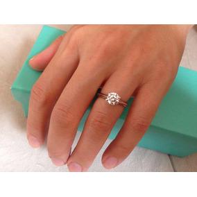 bf1ec7657e9cf Anel De Noivado Tiffany - Anéis com o melhor preço no Mercado Livre ...
