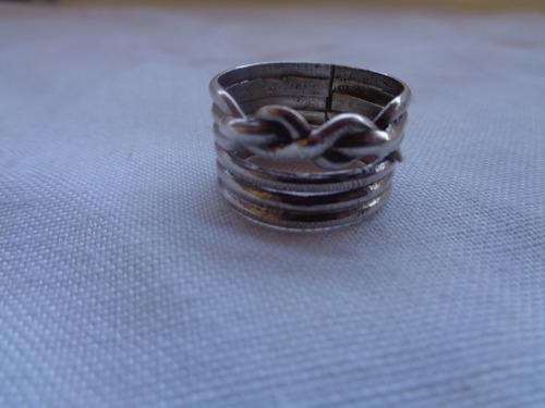 anel prata de lei aro 20 5,8 gramas 87*