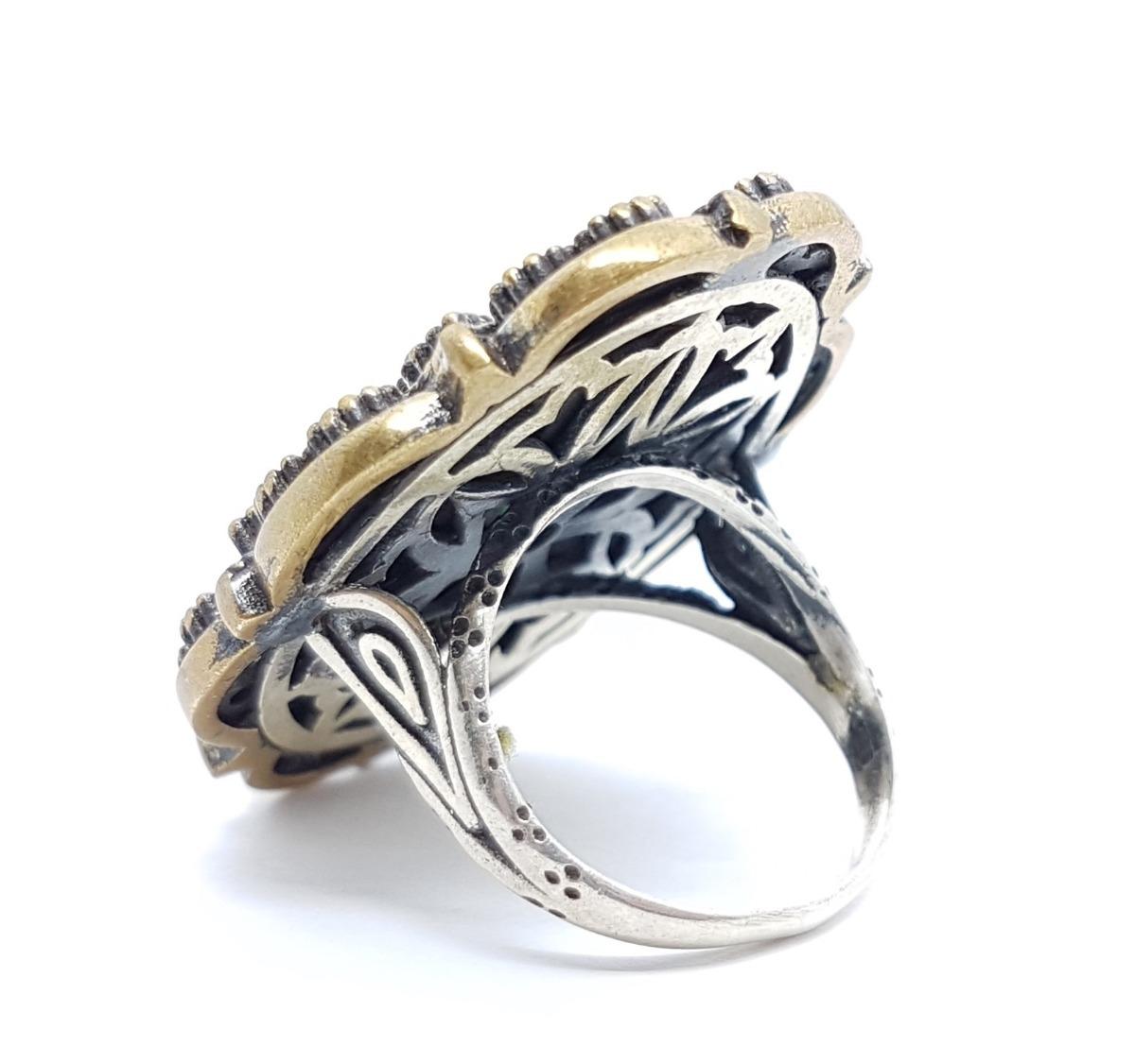9bff8c75f8 anel prata turca. Carregando zoom.