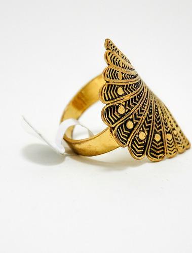 anel promoção feminino dourado  21. barato bijuteria