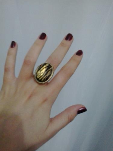 anel regulável retrô pronta entrega cor ouro velho