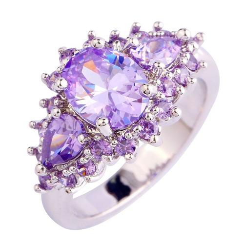 anel  rozalva da  sun cristais brilhantes bruto iguinorant
