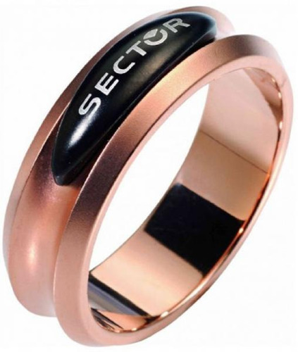 anel sector ouro rose - made in italy - size 11.