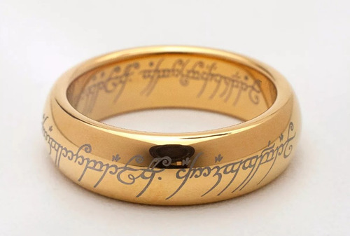 anel senhor dos anéis o um anel na caixa barato frete grátis