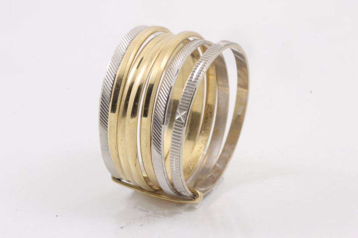 Anel Sete Elos Ouro 18k - R  630,00 em Mercado Livre 409ebaf3e9