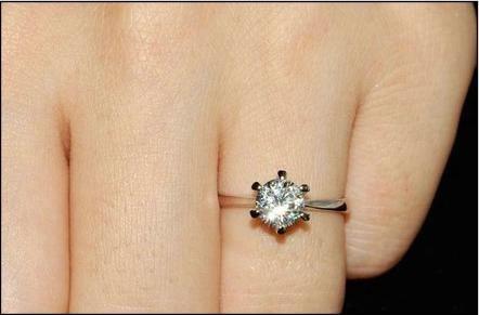 anel solitario aliança aro 18 banhado ouro rose - j1596
