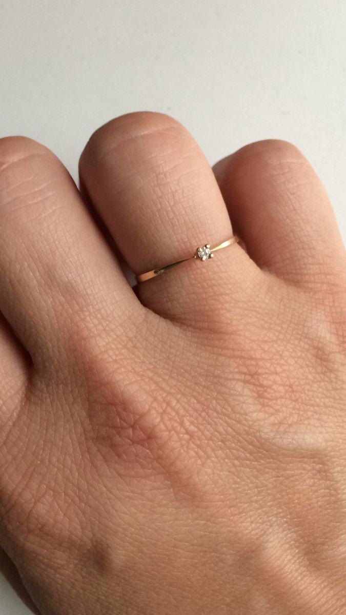anel solitário de ouro 18k 750 maciço namoro compromisso. Carregando zoom. 4e621258ed