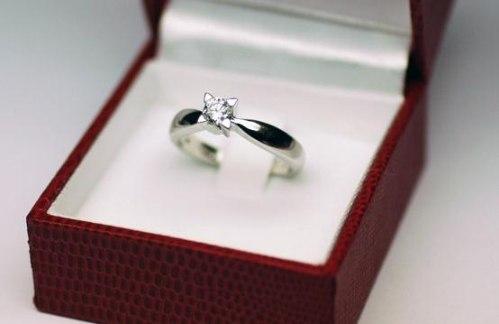 Anel Solitário De Ouro 18k Com Diamante De 15 Pontos S02 - R  1.850 ... 3d26252c2f
