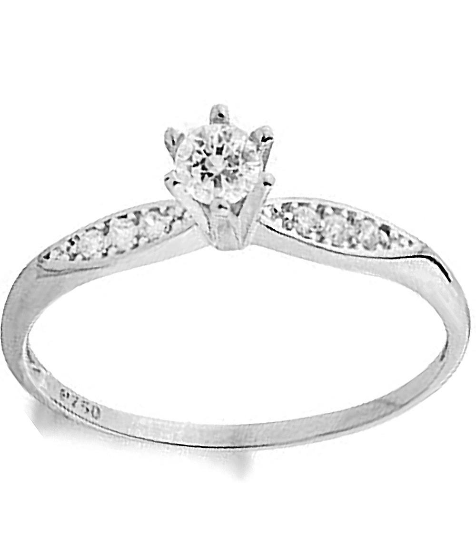 c369adb93d06d anel solitário feminio prata 950 noivado pedra frete gratis. Carregando  zoom.