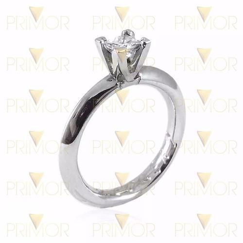 anel solitário noivado em ouro diamante de30 pontos nv020