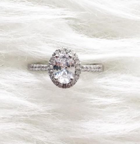 anel solitário prata 925 c  pedra zirconia  original tam 18 · anel  solitário prata 1a1310b863
