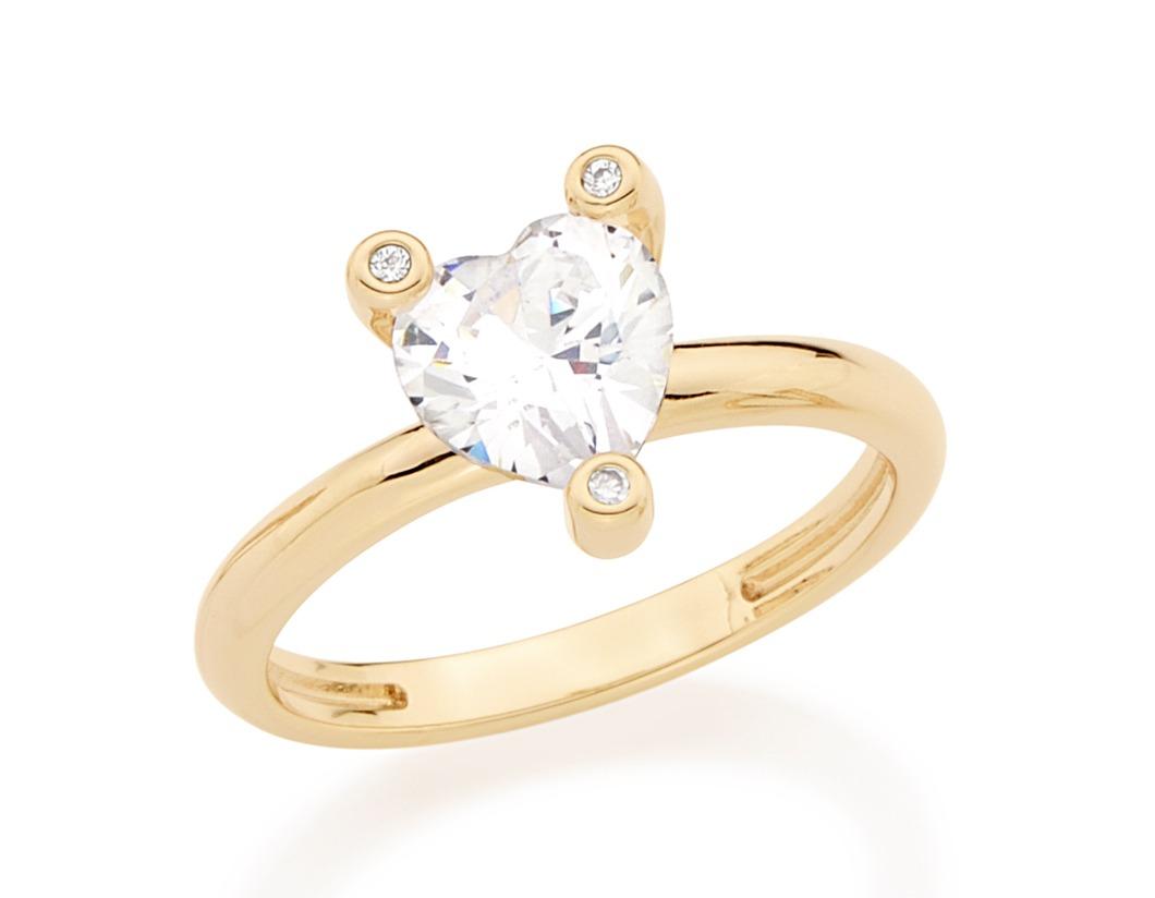 eb31da0e29cce anel solitário zircônia feminino f. ouro 18k rommanel 512175. Carregando  zoom.