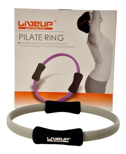 anel tonificador de pilates liveup cinza leve toning ring