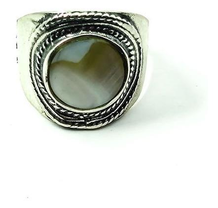 anel trabalhado madre pérola ou abalone - id 3447