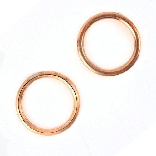 anel vedação escape cg / titan / / titan150 / ybr125 100pc