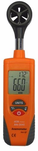anemômetro icel manaus an-3040 escalas 0.4 a 30 m/s