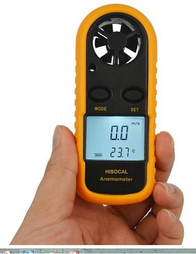 anemometro digital prof. con termometro incorporado. factura