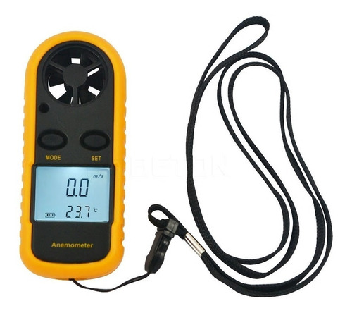 anemómetro digital smart lcd velocidad viento/temperatura