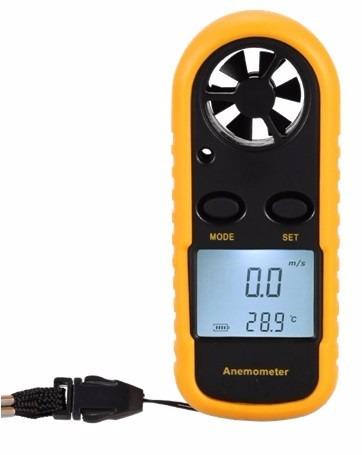 anemometro digital velocidad y temperatura del viento