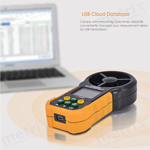 anemómetro tº hr% pulverización agricola fumigaciones campo