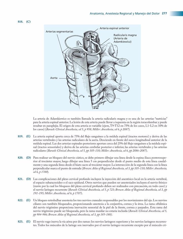 Anestesia, Una Revisión Completa / Hall-chantigian / Amolca ...